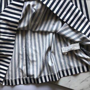 Zara Skirts - Zara Women Striped Midi Skirt